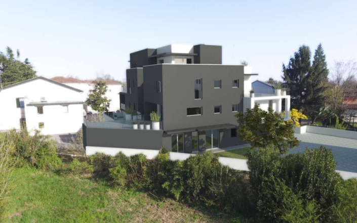 progetto nuovo residence treviso